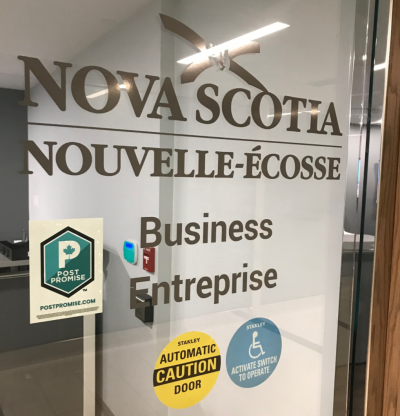 Patrick Sullivan Tweets about Nova Scotia's Department of Business Taking the POST Promise