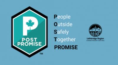 Lethbridge Region Economic Recovery Task Force Takes the POST Promise